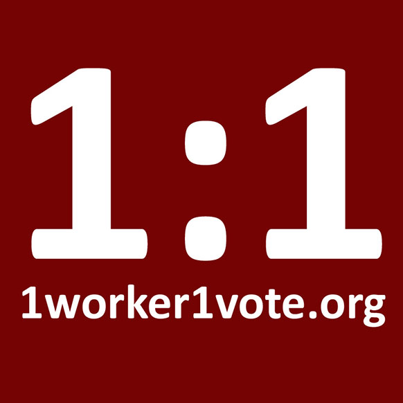 1worker1vote.org logo