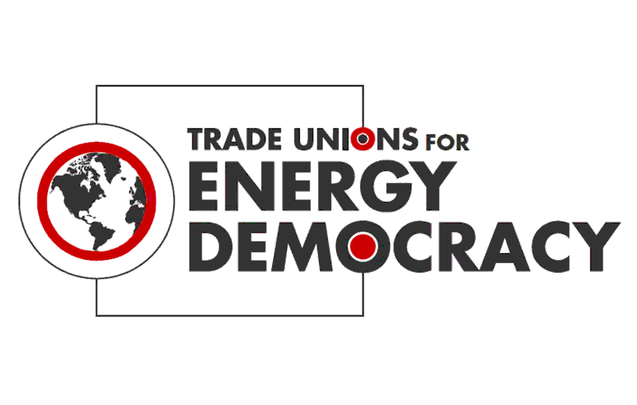 Trade Unions for Energy Democracy logo