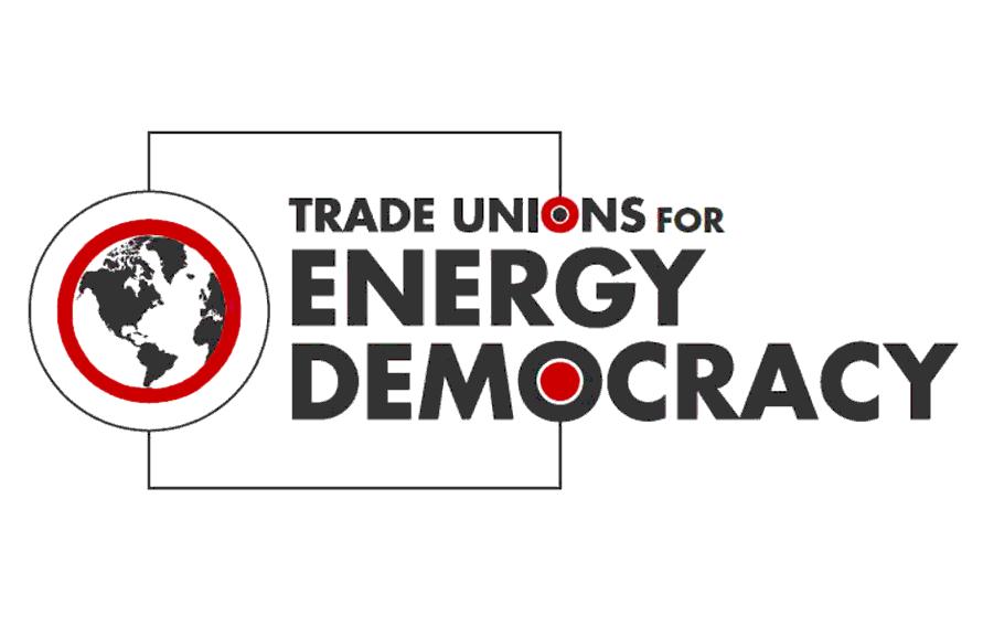 Trade Unions for Energy Democracy logo