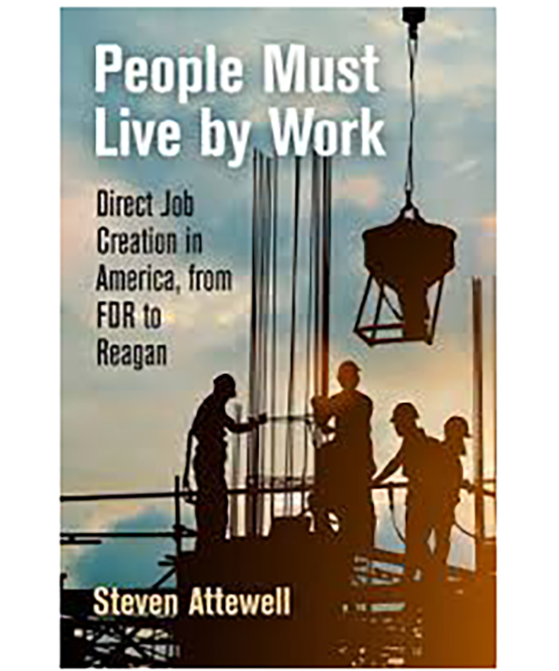 "Book Cover - ""People Must Live by Work"""