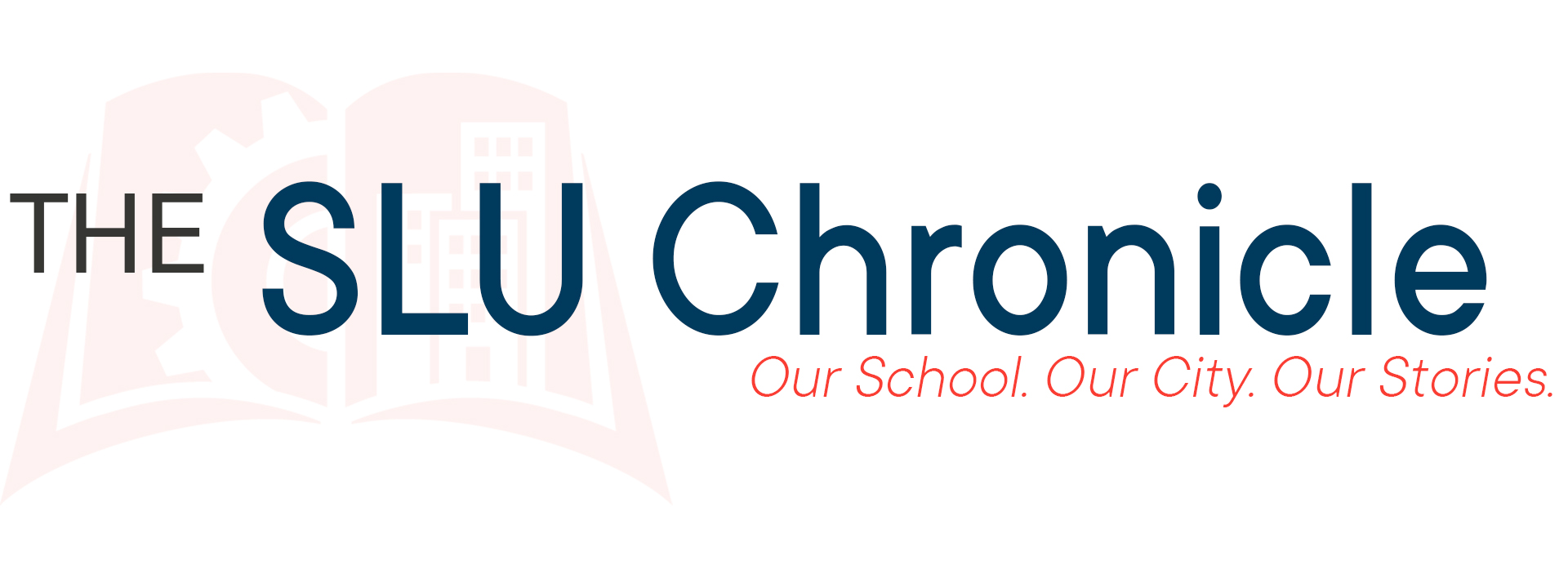 Header for the SLU newsletter, the SLU Chronicle