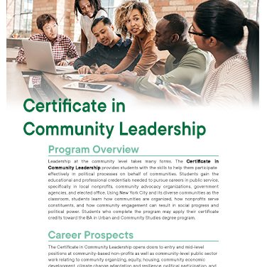 Cert Community Leadership
