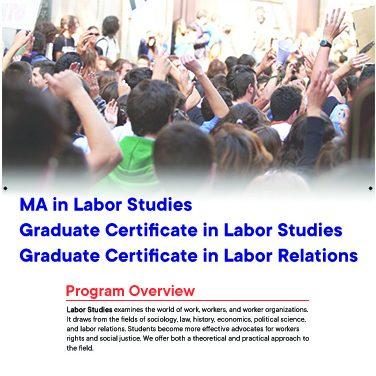 MA Labor Studies